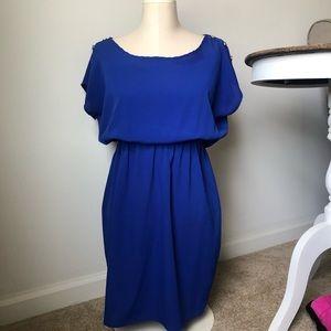 Soprano Blue shift dress
